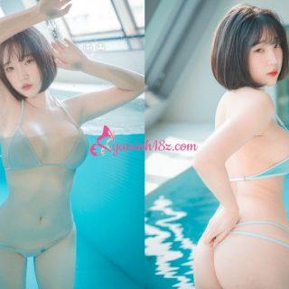 Gái xinh Hàn Quốc bikini 2 mảnh